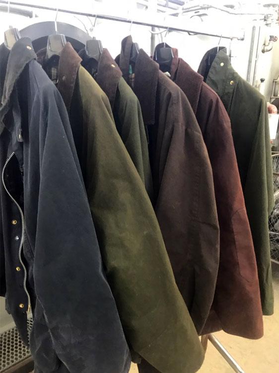 Nettoyage veste cuir geneve