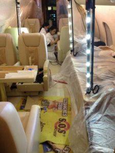 recoloration cuir avion geneve 225x300 Vehicle interiors